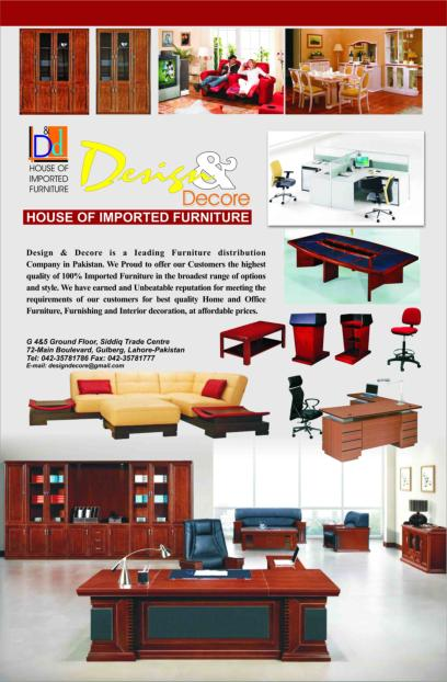 Design and Decore, Home Furniture, Furniture Showroom, Office ...