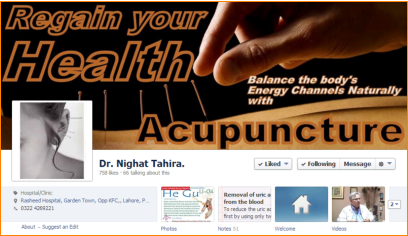 Dr. Nighat Tahira Consultants Acupuncturist Website Thumbnail